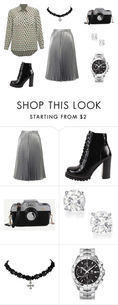 playloy by anastasiasinitsyna on Polyvore featuring мода, Miss Selfridge, Jeffrey Campbell and TAG Heuer