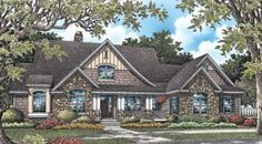 The Stonebrook House Plans First Floor Plan - House Plans by Designs Direct.