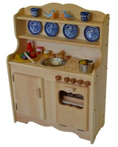 Sylvie's Wooden Toy Kitchen from Nature's Crib