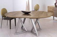 """Résultat de recherche d'images pour """"table a manger ronde avec rallonge"""""""