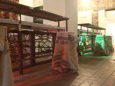 Cidade 32 restaurant and gallery interior design by Federica Di Donato