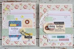 Hello everyone, yep it's June already and that means it's reveal day at Gossamer Blue. This month we've teamed up with Lily Bee for some c. Gossamer Blue, Birthday Sentiments, Project Life Cards, Scrapbook Cards, Scrapbooking, Mish Mash, Journal Cards, Junk Journal, Card Maker