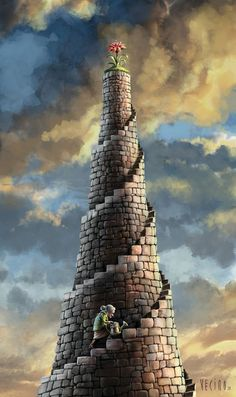 Dream Imagination surreal art Tower of Mabel