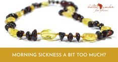 Baltic amber is an ancient remedy that helps relieve nausea symptoms during pregnancy, and gastrointestinal distress. How To Help Nausea, How To Relieve Nausea, Treatment For Nausea, Morning Sickness Symptoms, Iron Age, Amber Jewelry, Baltic Amber, Some People, Pregnancy