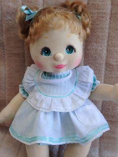My Child Doll Ash Blonde Piggy Aqua Charcoal