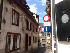 Just follow the signs.. The  Old Town of Basel