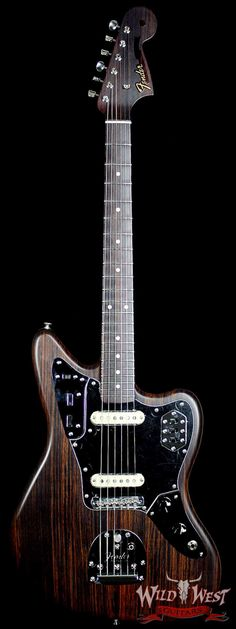 Fender Masterbuilt Rosewood Jaguar NOS by Greg Fessler - Wild West Guitars