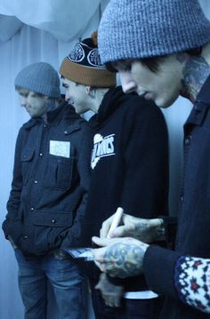 oli, mat, and i want to say thats lee but im 99.9% sure its not him wow bye