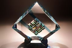 Artist Uses Math To Create Glass Sculptures - Wow Gallery