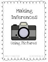 Inference Activity Activity: Look at the pictures and make inferences based on what you see. Match the inference cards to the correct picture.