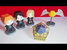 3 DIY : Harry Potter - Collaboration avec Creation-Jade-B - Papercraft Harry Potter Papercraft Harry Potter, Hermione, Kirigami, Vif D'or, Harry Potter Bricolage, Anniversaire Harry Potter, Harry Potter Diy, Collaboration, 3 D