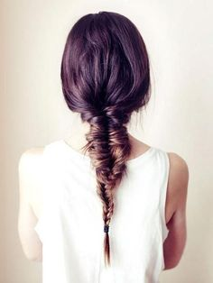 Messy Fishtail/French Braid