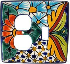 Talavera Combo Switch Plate Cover