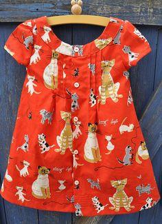 Adorable little dress pattern