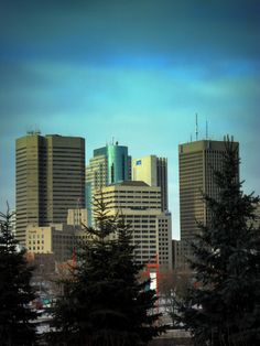 Downtown Winnipeg, Manitoba, Canada. Home of my favorite cousins!