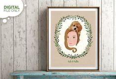 Individuelles Portrait zum Sofort Download, Mensch mit Haustier, Tierliebhaber Gerschenk, Haustier Geschenk, Muttertag Geschenk Ein Portrait ist ein einzigartiges Geschenk für Hochzeiten, Verlobungen, Jahrestage, Geburtstage und für andere besonderer Feiertage. Ich fertige in dem (in