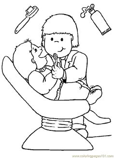 Dental Health coloring pages. Family coloring pages, People and Jobs coloring pages. Coloring pages for kids. Thousands of free printable coloring pages for kids! Dental Health Month, Oral Health, Dental Kids, Dental Care, Free Dental, Dental Hygiene, Flag Coloring Pages, Coloring Pages For Kids, Kids Coloring