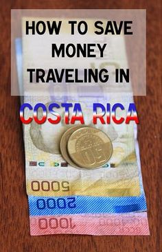 Insider tips for saving money when traveling in Costa Rica. Costa Rica is an… Travel Money, Budget Travel, Travel Tips, Travel Stuff, Cheap Travel, Travel Advice, Travel Ideas, Travel Inspiration, Travel Destinations