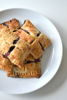 Blueberry Hand Pies - Sage + Sparkle