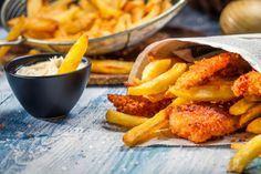 Baked Fish and Chips