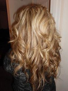 blond highlights; basically my hair color.