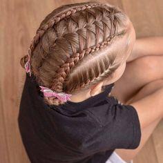 51 Braided Hairstyles for kids Braided Prom Hair, Kids Braided Hairstyles, Little Girl Hairstyles, Cute Hairstyles, Best Braid Styles, Khaleesi Hair, Amber Hair, Gymnastics Hair, Marley Hair