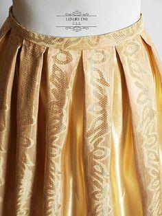 sukňa GOLD