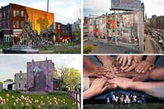October Is Mural Arts Month: Celebrate With Exhibitions, Walking Tours, Mural Dedications, Public Painting Days And More