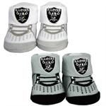Raiders Infant Booties