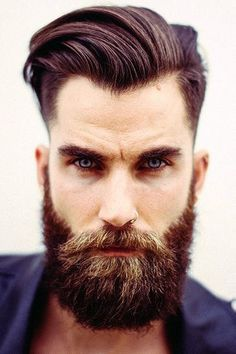 His eyes are sexy and so is his beard. I just had a beard had beardgasm!