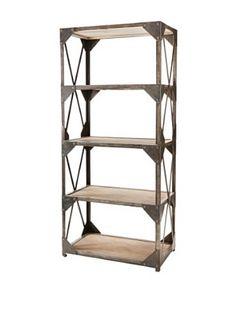 Longaberger Wrought Iron Leaning Bookshelf Works Perfectly
