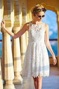 Pina Lace Dress #anthropologie #anthrofave