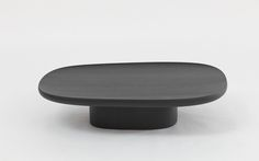 Geta Black Coffee Table 2014 Ronan & Erwan Bouroullec Producer: Galerie kreo Limited edition of 8 pieces + 2 A.P. + 2 Prototypes Numbered and signed pieces Materials: Black stained oak wood. Dimensions: - Height: 10,62 inches (27 cm) - Length: 47 inches (119,6 cm) - Depth: 34 inches (86 cm) Galerie kreo | Galerie kreo