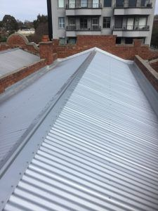After-Zincalume corrugated roof- South Yarra - Roofrite Corrugated Roofing, Skylight, Melbourne, Deck, Outdoor Decor, Home, Ceilings, Dormer House, Front Porches