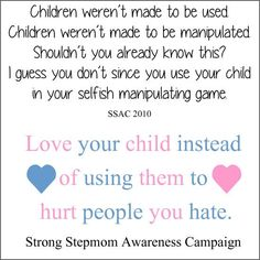 Don't be manipulator