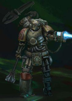 Warhammer Fantasy, Warhammer 40000, Space Marine, Iron, Hands, Fictional Characters, Artworks, Deviantart, Gallery