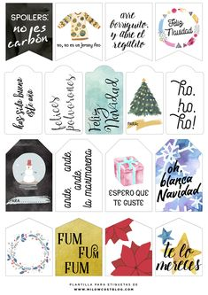 Un nuevo bundle de tipografías y recursos de lo más bonitos. Además, unas etiquetas imprimibles y una plantilla para que crees las tuyas propias