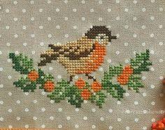 Crochet ideas that you'll love Tiny Cross Stitch, Xmas Cross Stitch, Cross Stitch Needles, Cross Stitch Borders, Cross Stitch Animals, Cross Stitch Flowers, Cross Stitch Charts, Cross Stitch Designs, Cross Stitching