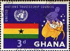 Ghana 1959 United Nations Trusteeship Council SG 234 Fine Used SG 234 Scott 67 Condition Fine Used Only one post charge applied on multipul purchases