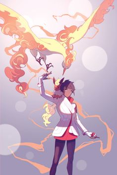 Candela by: Electrifying Pear #TeamValor