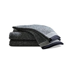 Made from luxurious heathered yarns, these Danish-designed terry towels are as absorbent as they are handsome. Made from a dense weave of 100% heathered cotton yarns and hand-finished with classic, tailored details, the Field & Fence towel collection is the perfect way to elevate any bathroom. Absorbent and quick-drying, these towels are available in both …