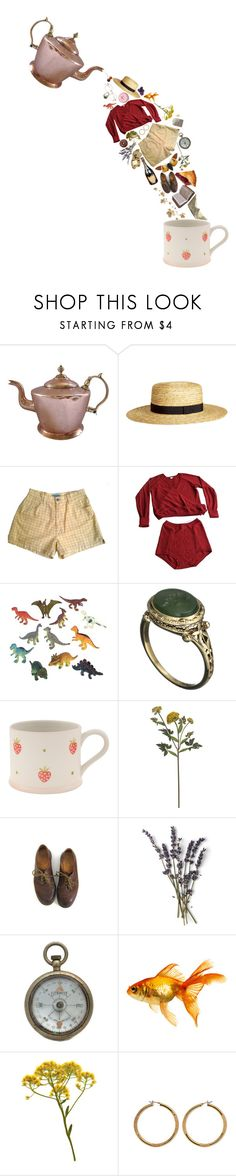 """""""not my cup of tea"""" by tuliptheprince ❤ liked on Polyvore featuring H&M, Eres, Dinosaurs, Alexis Bittar, Susie Watson Designs, Crate and Barrel, Dr. Martens, French Kiss, WALL and Vince Camuto"""