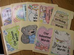 Kindergarten Smiles: Our Words