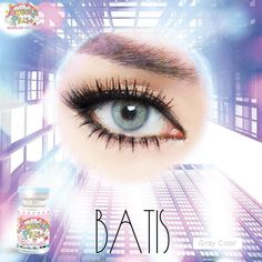 Sweety Batis Gray Original is a famous contact lens from thailand, you can find it on softlensqueen.com