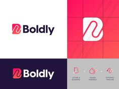 An interesting selection of logos for your inspiration. Branding and identity creation for future projects. Letter B, Letter Logo, Typography Logo, Logo Branding, Web Design, Modern Logo Design, Brand Design, Graphic Design, Communication Logo