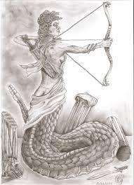 medusa bow and arrow - Google Search Medusa, Arrow, Bows, Tattoo, Google Search, Jellyfish, Arches, Bowties, Tattoos