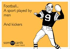 Okay, this was just funny #kickers #football