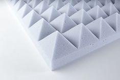 Panneaux acoustiques pyramidales Basotect - Studio d'enregistrement, Salle de musique - Swilo