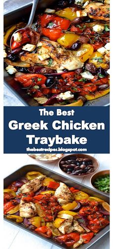 >> Greek Chicken Traybake Yups, the food this time is really very delicious and perfect guys.