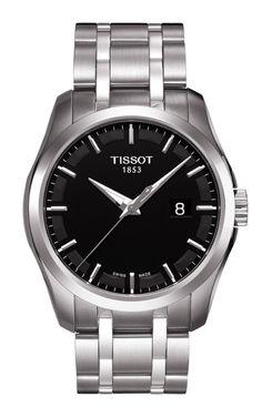 Couturier Men's Black Quartz Trend Watch T0354101105100